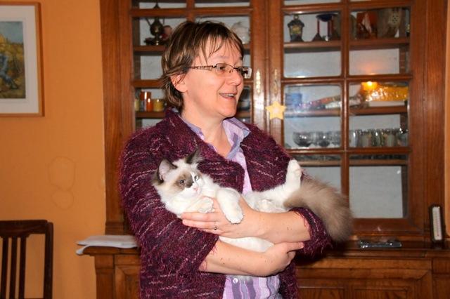 Françoise ragdoll Escale
